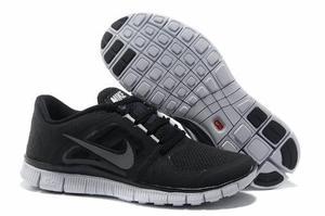 Zapatos Deportivos Nike Free 5.0 Negros 7, 8 Y 8.5 Us