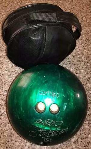 Bola De Bowling Amf Strikeline De 13 Libras Con Estuche