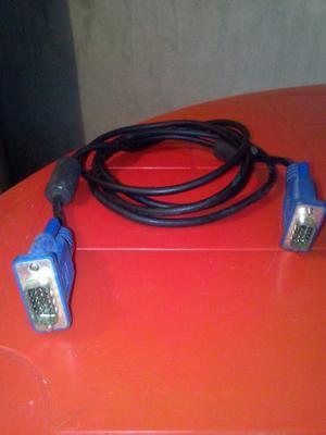 Cable Vga Conector Macho A Macho