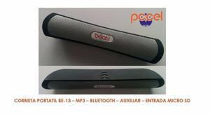 Corneta Portatil Be-13 - Mp3 - Bluetooth - Aux. - Micro Sd