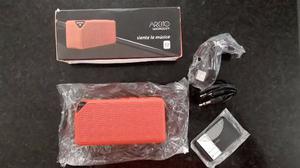 Corneta Portátil Recargable Bluetooth Micro Sd Importada
