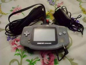 Game Boy Advance Con Adaptador Para Tv Con 3 Juegos