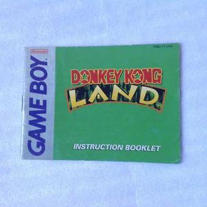 Game Boy Nintendo - Donkey Kong Land