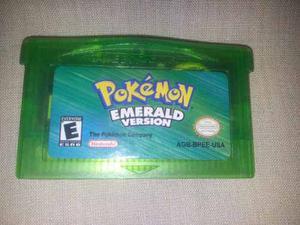 Juego De Game Boy Advance Pokemon Emerald Version Gba