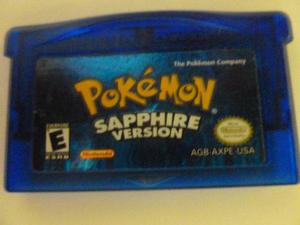 Juego De Pokemon Sapphire Version Para Game Boy Advance Ccs