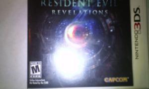 Juego Resident Evil Revelations Para Nintendo Ds3d