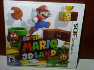 Juego Super Mario 3d Land / Nintendo 3ds Como Nuevo
