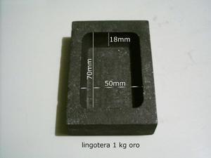Lingotera De Grafito Molde Para 1kg