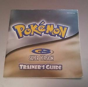 Manuales Pokemon Silver Yellow Blue Red Gba Gameboy