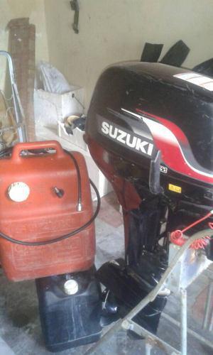 Motor De Lancha Suzuki 15hp