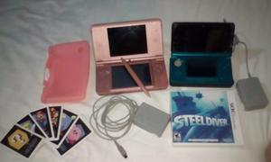 Nintendo 3ds Y Nintendo Dsi Xl