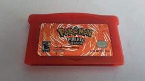 Pokemon Fire Red Gameboy Advance * Original Usa Impecable