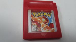 Pokemon Red Rojo Gameboy Color Original Usa