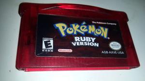 Pokemon Ruby Para Gameboy Advance * Original Usa Impecable