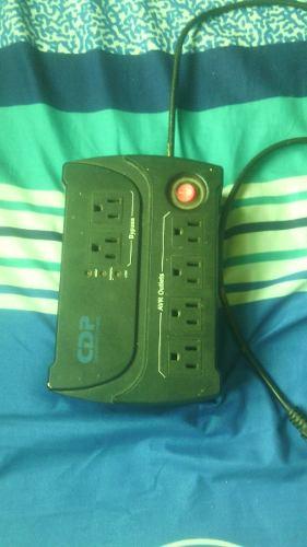 Regulador De Voltaje Cdp 120v 6 Tomas