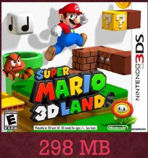 Super Mario 3d Land Juegos Digitales 3ds