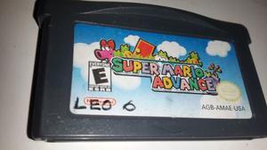 Super Mario Advance Para Gba Original Usa
