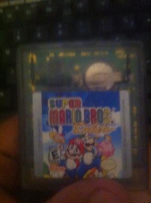 Super Mario Bros Deluxe Para Game Boy
