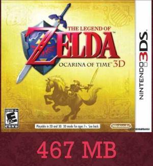 The Legend Of Zelda Ocarina Of Time Juegos Digitales 3ds