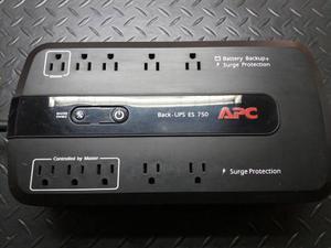 Ups Protector De Voltaje C/bateria De Respaldo (750) - Apc