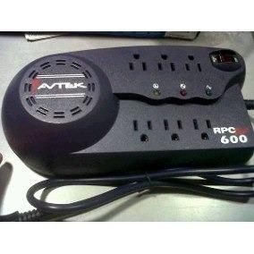 Vendo Regulador De Voltaje Avtek Pro600plus En 500