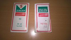 Agujas Para Maquina De Coser Singer Varios Numeros