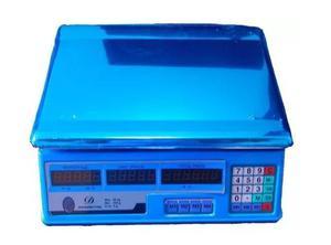 Balanza Peso Digital 40 Kg Charcuteria Con Bateria Recargabl