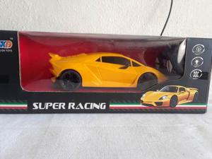 Carro A Control Remoto Super Racing Amarillo©