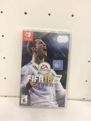 Juego De Nintendo Switch Fifa 18 Original Somos Tienda