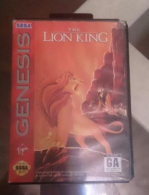 Juego De Sega The Lion King