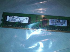 Memoria Ram Ddr2 De 2 Gb