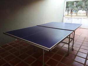 Malla para tennis de mesa ping pong incluye postes posot for Mesa de ping pong usada