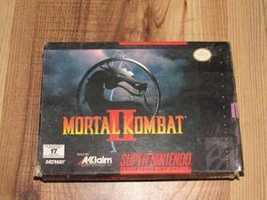 Mortal Kombat 2 Caja Sin Manual Ni Juego