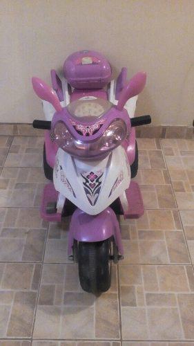 Moto A Batería Para Niña
