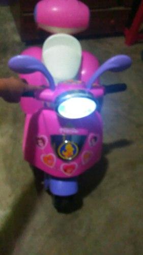Moto De Batería De Niña