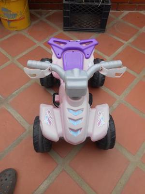 Moto Eléctrica De Batería Para Niñas