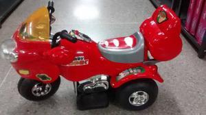 Moto Electrica Para Niños Con Bateria De 6 V