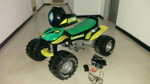 Moto Para Niños Kawasaki Con Batería Recargable. Buen