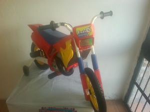 Moto Tipo Cross A Batería Para Niño