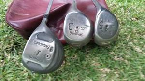 Palos De Golf Spalding Y Pelotas