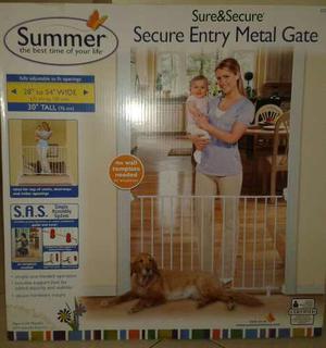 Separador De Ambiente O Reja Seguridad Para Bebes Y Mascotas