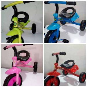 Triciclo En 2 Colores Para Niños Y Niñas A Buen Precio