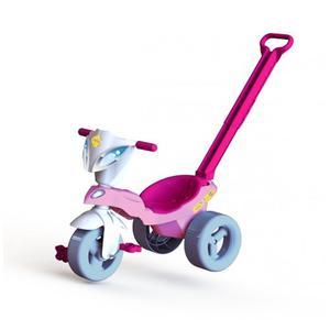 Triciclo Infantil Pepita Con Empujador Marca Xalingo