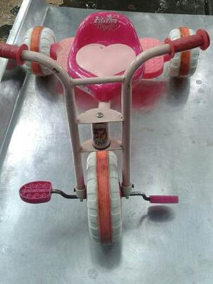 Triciclo Para Niña Rosado Usado En Excelente Estado