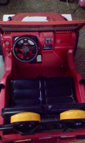 Vendo Carrito Eléctrico Usado Power Wheels Sin Bateria.