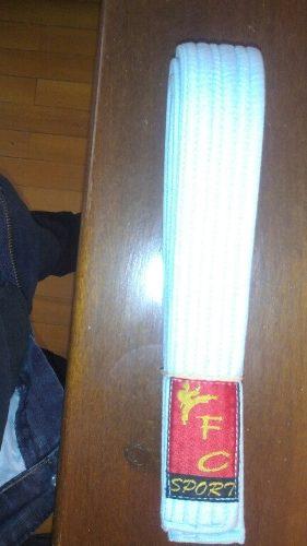 Cinturones De Karate Para Niño Marca Fc Sports Como Nuevos!