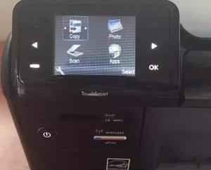 Impresora Hp D110 Sin Cartuchos