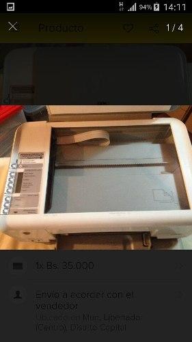 Impresora Multifuncional Hp C- Con Impresión Continua