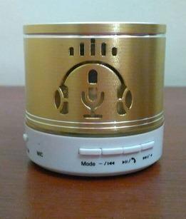 Mini Corneta (bluetooth) Led / Usb / Aux / Tf / Auricular