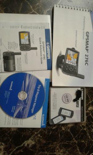Caja De Gps Garmin 276c Con Accesorios